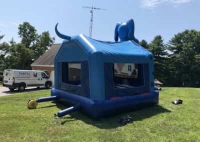 Blue Dog Inflatable - Tail 2