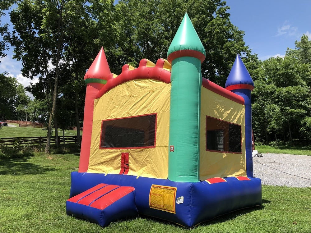 Multi Color Crayola Bounce House 2