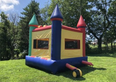 Multi Color Crayola Bounce House Back 2