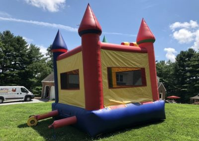 Multi Color Crayola Bounce House Back