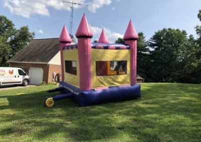 Pink Castle Bounce House 3