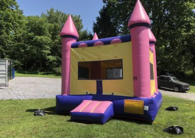 Pink Castle Bounce House 4