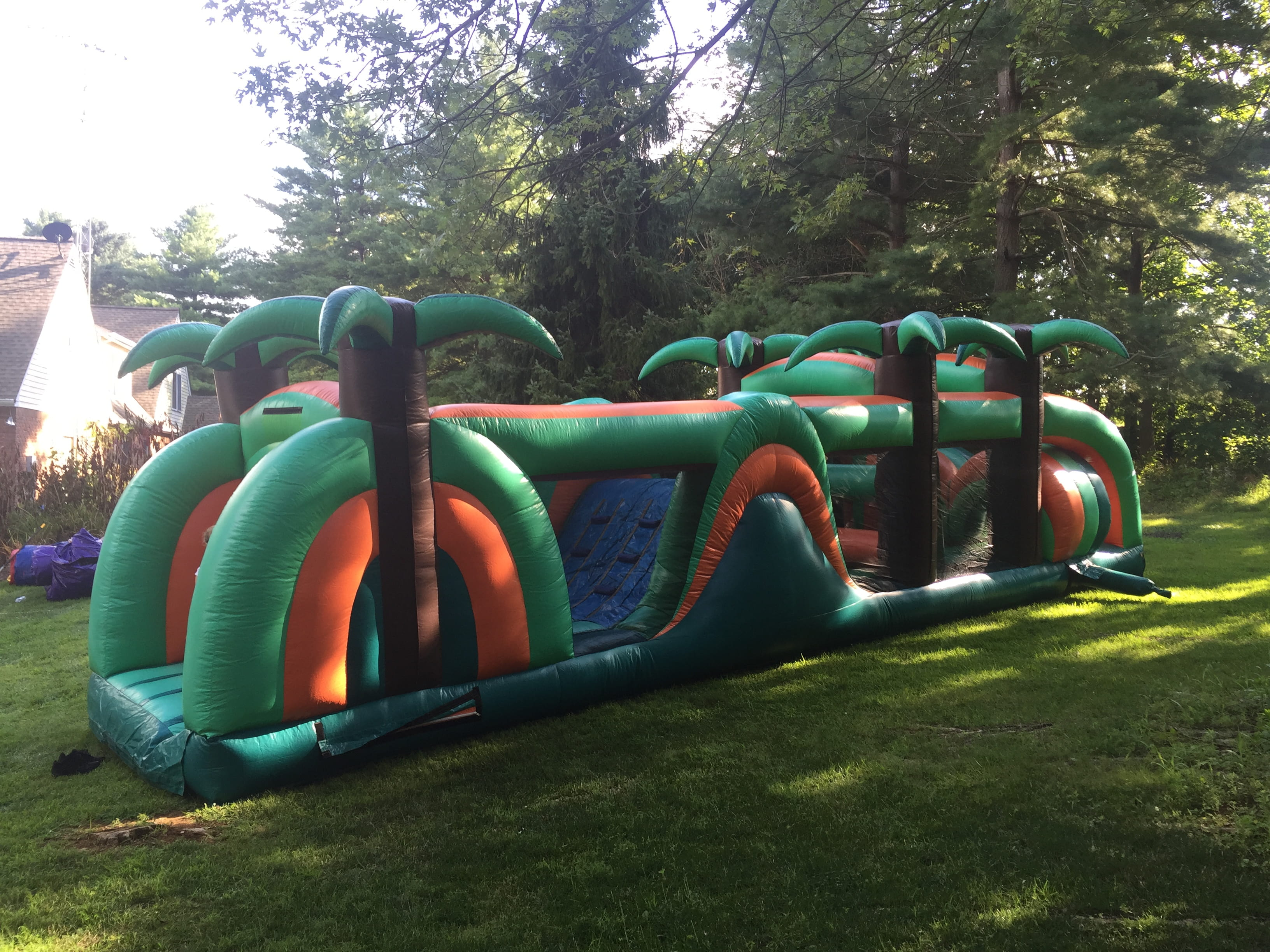 40-Foot Tropical Obstacle Course