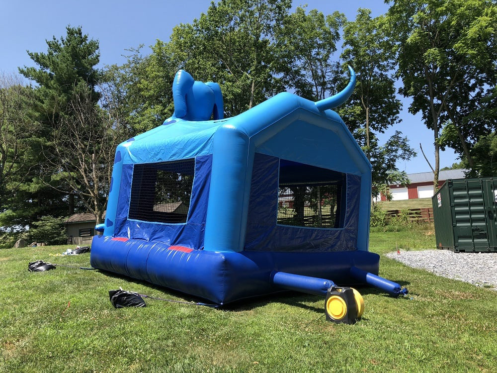 Blue Dog Inflatable - Tail